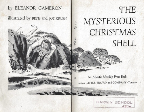 the mysterious christmas shell frontispiece eleanor cameron 001