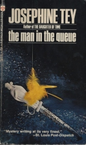 the man in the queue josephine tey b001