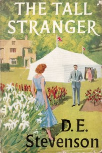 the tall stranger d e stevenson hc dj