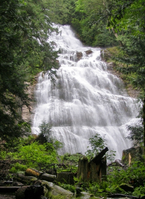 Bridal Veil Falls, near Chilliwack, B.C.