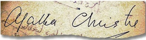 agatha christie signature