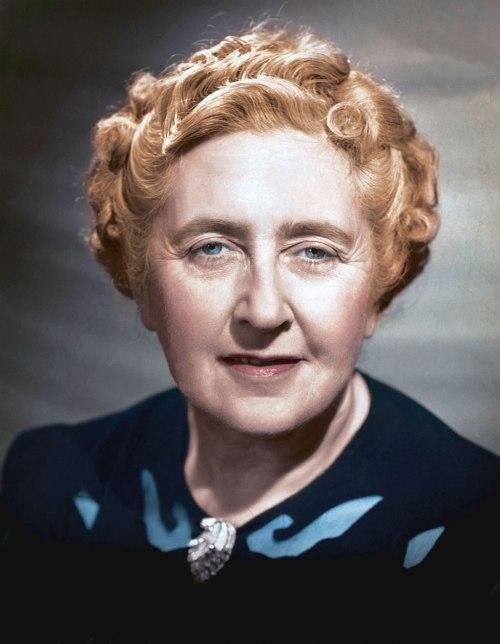 Agatha Christie, circa