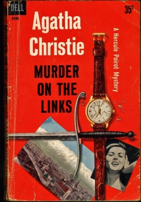 A nice collection of clues presented here, in this still more recent (1970s, perhaps) paperback cover.