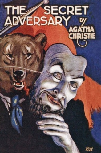 "An early dustjacket - possibly from the first edition. Note the red flag and the Russian bear behind the mask of ""Mr Brown""!"