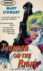 Beware the nun! An older paperback cover which captures the mood so very well.