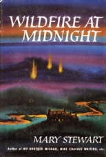 Wildfire at Midnight - dust jacket illustration, first edition, 1956.