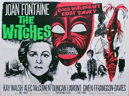 The Witches horror film peter curtis norah lofts hammer film