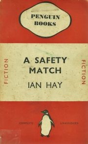 a safety match ian hay penguin cover 1938 001