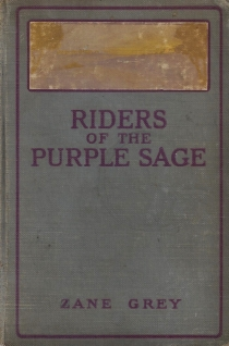 riders of the purple sage zane grey personal copy 001
