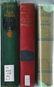 jeremy trilogy hugh walpole 001
