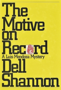 the motive on record dell shannon 1982 001