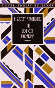 this side of paradise f scott fitzgerald dover edition