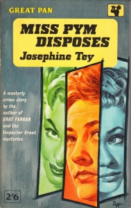miss pym disposes josephine tey 1946 pan cover