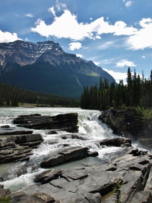 Athabasca Falls, Jasper National Park, Alberta.