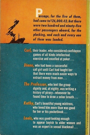 The back of the '62 Pocket Book.