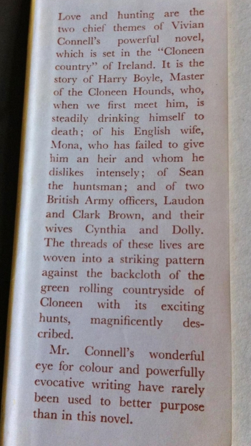 hounds of cloneen dj blurb