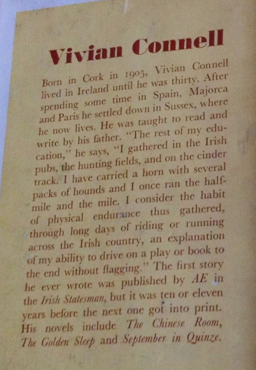 vivian connell bio, back dj the hounds of cloneen