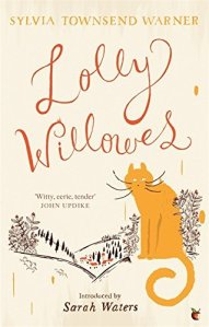 A much too whimsical cover, in my opinion. Though there is indeed a cat, eventually.
